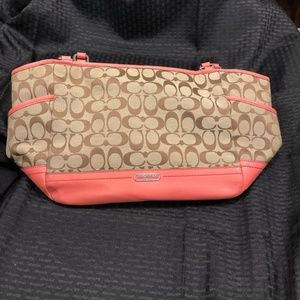 Coach Summer Bag Peach/Orange
